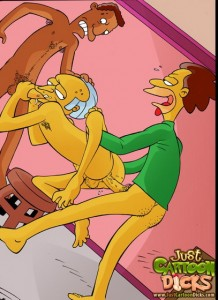 Just Cartoon Dicks - The Simpsons