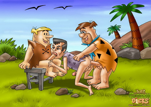 Gay Flintstones party Gay Flintstones Just Cartoon Dicks