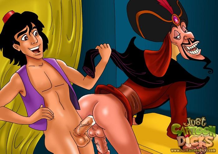 Arabic gay lover - Gay Aladdin Just Cartoon Dicks